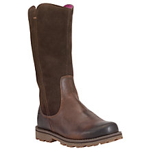 Buy Timberland Children's Skyhaven Leather Boots Online at johnlewis.com