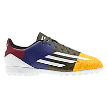 Buy Adidas Children's F5 TF Messi Football Boots, Multi Online at johnlewis.com