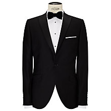 Buy John Lewis Peak Lapel Dress Suit Jacket, Black Online at johnlewis.com