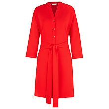 Buy Planet Summer Red Longline Tunic, Bright Red Online at johnlewis.com