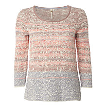 Buy White Stuff Flower Press Jumper, Multi Online at johnlewis.com