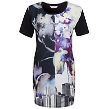 Buy Miss Selfridge Skyline Floral Tunic, Multi Online at johnlewis.com