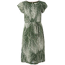 Buy White Stuff Daisy Pom Dress, Willow Green Online at johnlewis.com
