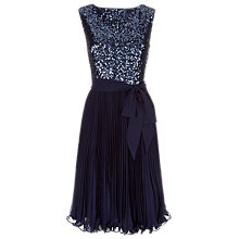 Buy Kaliko Vintage Sequin Bodice Dress Online at johnlewis.com