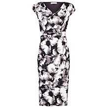 Buy Planet Black and Grey Print Dress, Multi Dark Online at johnlewis.com