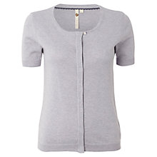 Buy White Stuff Macon Cardigan, Light Periwinkle Online at johnlewis.com