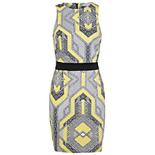 Buy Miss Selfridge Graphic Bodycon Dress, Multi Online at johnlewis.com