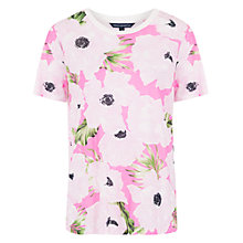 Buy French Connection Holiday Poppy Print T-Shirt, Spring Break Online at johnlewis.com