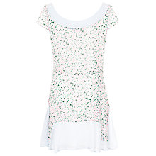 Buy French Connection Desert Tropicana Georgette Dress, Ice Cooler/Multi Online at johnlewis.com