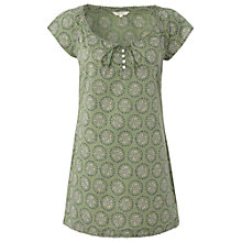 Buy White Stuff Pretty Spot Tunic Top, Willow Green Online at johnlewis.com