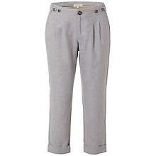 Buy White Stuff Pixie Ankle Grazer Trousers, Cloud Grey Online at johnlewis.com