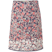 Buy White Stuff Pixelated Skirt, Dark Periwin Online at johnlewis.com