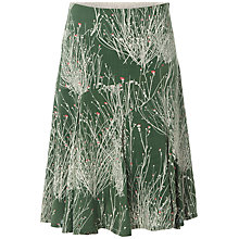 Buy White Stuff Pretty Grasses Skirt, Dark Willow Online at johnlewis.com