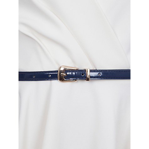 Buy Closet Cross-over Belt Dress, Ivory Online at johnlewis.com
