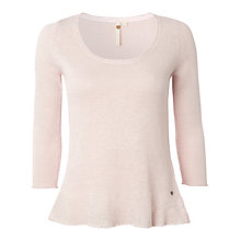 Buy White Stuff Linen Mix Blossom Knit Top Online at johnlewis.com