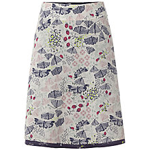 Buy White Stuff Pressed Flowers Reversible Skirt, Multi Online at johnlewis.com