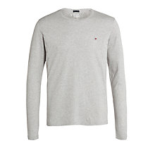 Buy Tommy Hilfiger Ronan Cotton Long Sleeve T-Shirt Online at johnlewis.com