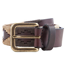 Buy Pampeano Tierra Leather Belt, Multi Online at johnlewis.com