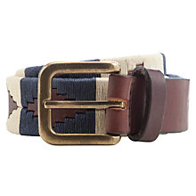 Buy Pampeano Jugadoro Leather Belt, Multi Online at johnlewis.com