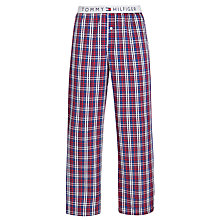 Buy Tommy Hilfiger Bertsy Woven Pyjama Pants, Red/Blue/White Online at johnlewis.com