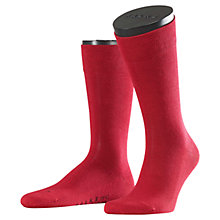 Buy Falke London Sensitive Socks, Red Online at johnlewis.com
