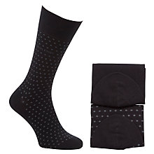 Buy Calvin Klein Pin Dot Socks, Pack of 2 Online at johnlewis.com