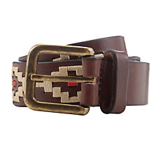 Buy Pampeano Principe Leather Belt, Multi Online at johnlewis.com
