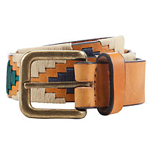Buy Pampeano Estancia Leather Belt, Multi Online at johnlewis.com