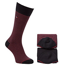 Buy Tommy Hilfiger Small Stripe Socks, Pack of 2 Online at johnlewis.com