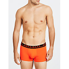Buy BOSS Solid Tone Cotton Trunks, Pack of 3, Multi Online at johnlewis.com