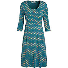 Buy Seasalt Duchess Dress, Split Spot Peacock Online at johnlewis.com