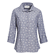 Buy Seasalt Gardener Shirt, Wild Leaves Indigo Online at johnlewis.com