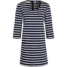 Buy Seasalt Mount's Bay Tunic Top, Squid Ink/Putty Online at johnlewis.com