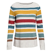 Buy Seasalt Carn Kez Jumper, Gamper Ecru Online at johnlewis.com