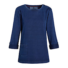 Buy Seasalt Lesky Top, Indigo Online at johnlewis.com
