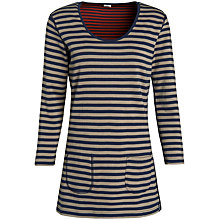 Buy Seasalt Sassy Stripe Tunic Top, Duo Squid Ink Online at johnlewis.com