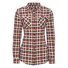 Buy Barbour Myland Shirt, Scarlet Online at johnlewis.com