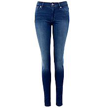 Buy 7 For All Mankind Sateen Skinny Jeans Online at johnlewis.com