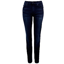 Buy 7 For All Mankind Rozie Straight Jeans, Twilight Indigo Online at johnlewis.com