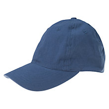 Buy Polarn O. Pyret Cotton Cap, Blue Online at johnlewis.com