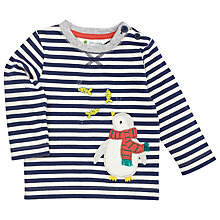 Buy John Lewis Penguin and Fish T-Shirt, Blue/Multi Online at johnlewis.com