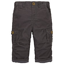Buy John Lewis Multi-Pocket Corduroy Trousers, Grey Online at johnlewis.com