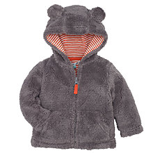 Buy John Lewis Seal Zip Through Hoodie, Grey Online at johnlewis.com