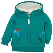Buy John Lewis Dinosaur Fleece, Green Online at johnlewis.com