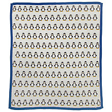 Buy John Lewis Penguin Print Shawl, Multi Online at johnlewis.com