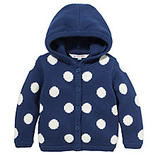 Buy John Lewis Spot Jumper, Navy/White Online at johnlewis.com