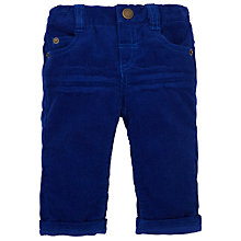 Buy John Lewis Baby Corduroy Trousers, Cobalt Blue Online at johnlewis.com