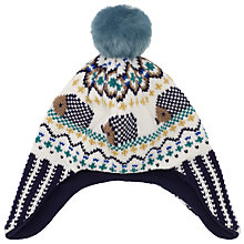 Buy John Lewis Hedgehog Trapper Hat, Multi Online at johnlewis.com