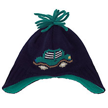 Buy John Lewis Car Trapper Hat, Navy Online at johnlewis.com
