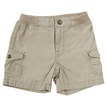 Buy Polarn O. Pyret Khaki Cargo Shorts, Khaki Online at johnlewis.com